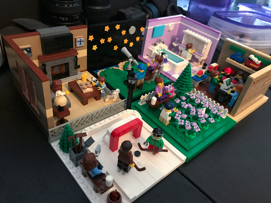 Completed Door County Lego projects photos