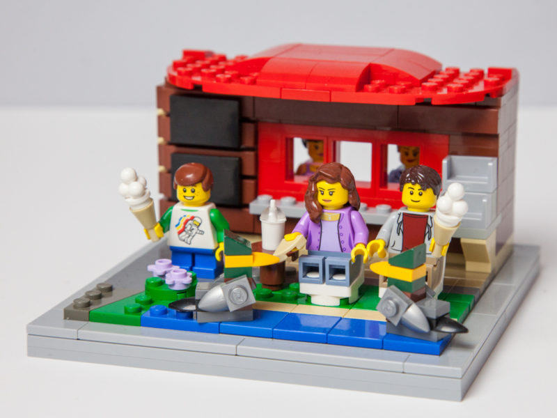 Not Licked Yet Lego project by Door County Bricks