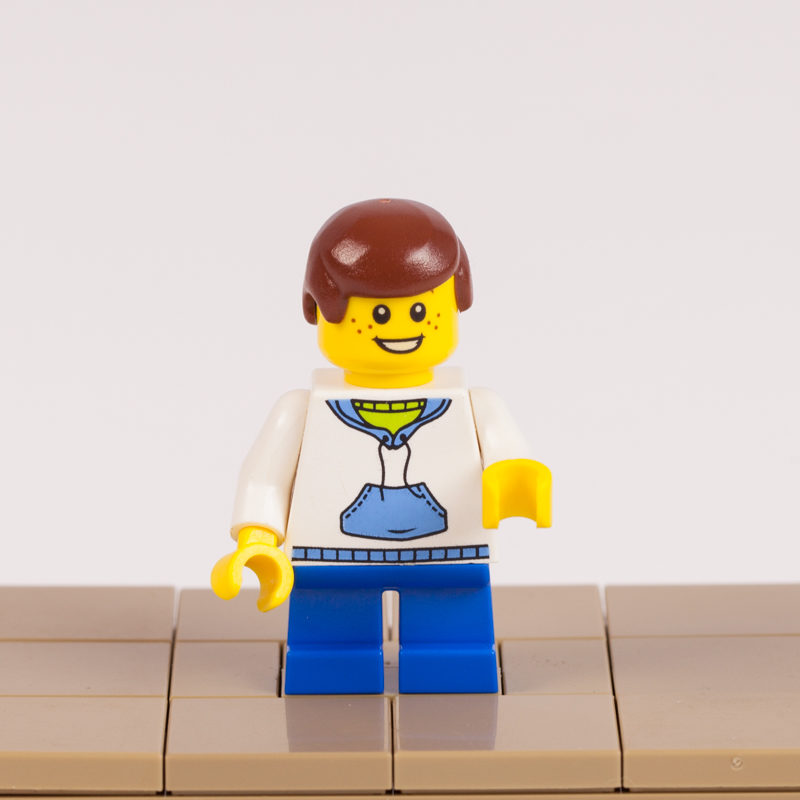 Christian's Lego minifigure by Door County Bricks