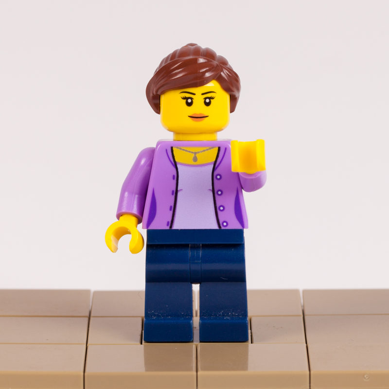 Mama Lego minifigure by Door County Bricks